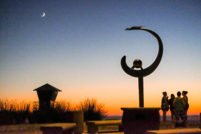 Same sculpture, different story, Imperial Beach, California, 2014