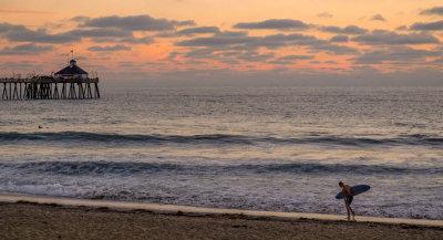 Heading home, Imperial Beach, California, 2014