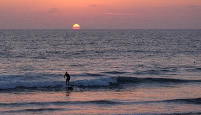 Day's end, Imperial Beach, California, 2014