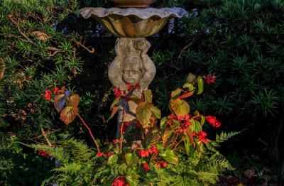 Fountain, Heyward-Washington House, Charleston, South Carolina, 2014