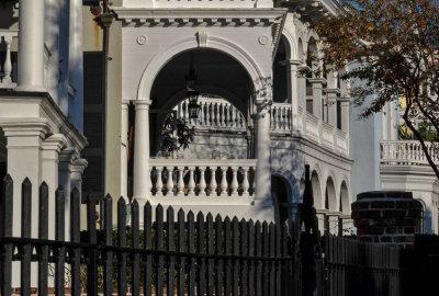 Fenced in, South Battery Street, Charleston, South Carolina, 2014