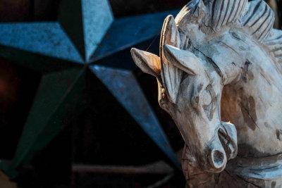 Rocking horse, Cave Creek, Arizona, 2015