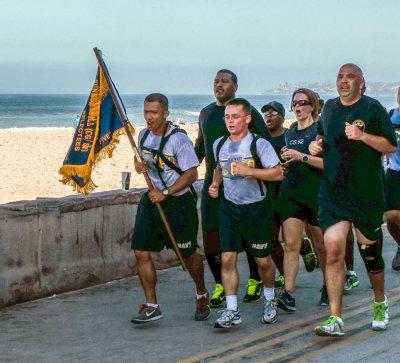 Sailors all, Mission Beach, California, 2015