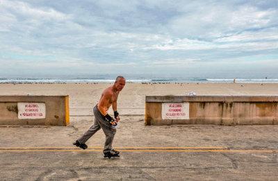 The skater, Mission Beach, California, 2015