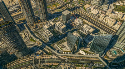 View from the top, Dubai, United Arab Emirates, 2016