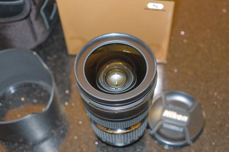 Nikon 24-70mm F2.8 Lens Closeup
