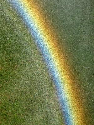 Home made rainbow...