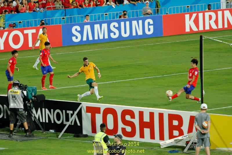 Australias Winning Goal