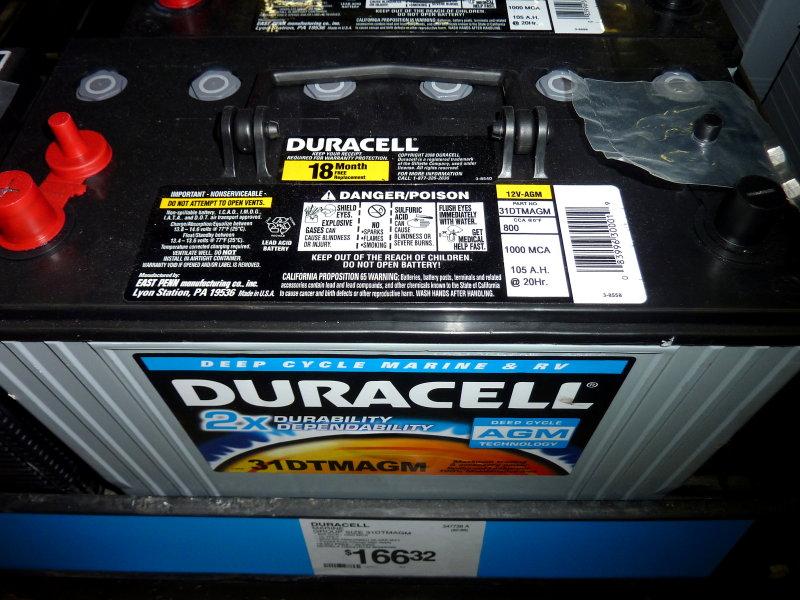 Duracell Marine Battery >> Duracell Group 31 Agm Marine Battery Beautiful Photos Marine