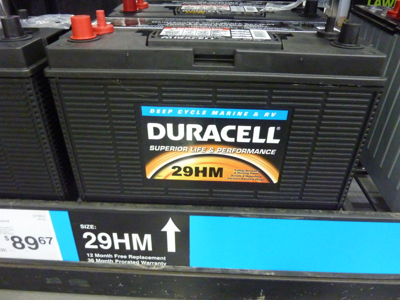 Duracell Marine Battery >> Best Battery Page 3 Cruisers Sailing Forums
