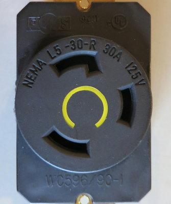 A NEMA L5-30 Socket