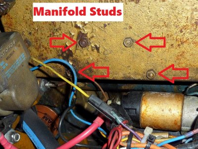 The Manifold Studs Are Too Short