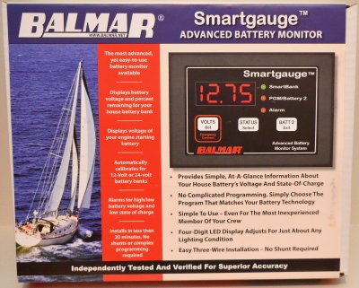 The Balmar Smart Gauge