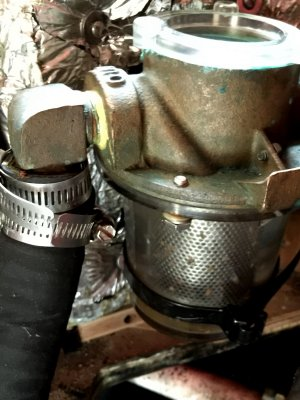 Wrong Elbow for a Strainer