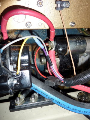 Universal Diesel Wiring Harness Upgrade Photo Gallery by Comp ... on tachometer connection diagram, boat wiring schematics, boat electrical wiring diagrams, boat instrument panel wiring diagrams, tachometer circuit diagram, boat lights diagram, boat wiring fuse panel dash,