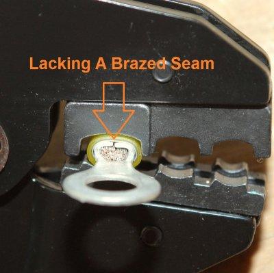 Terminal Quality - No Brazed Seam