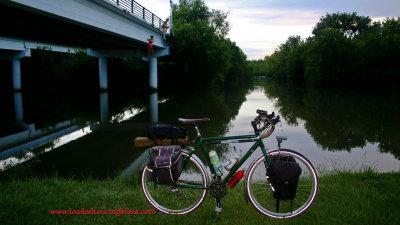 444    Jeff touring Texas - Nashbar Touring Bike