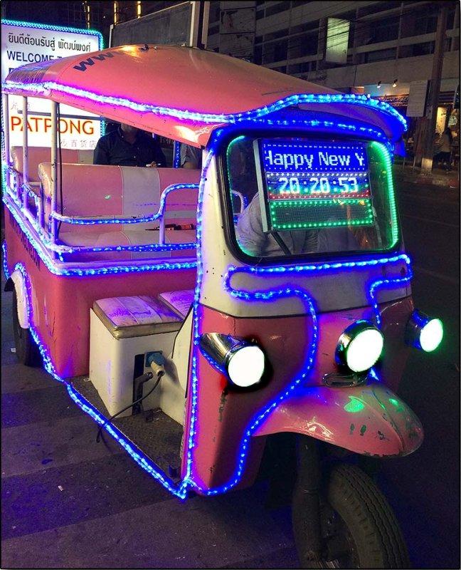 Happy New Year Tuk Tuk