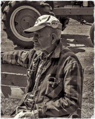 Portrait From the Threshing Show