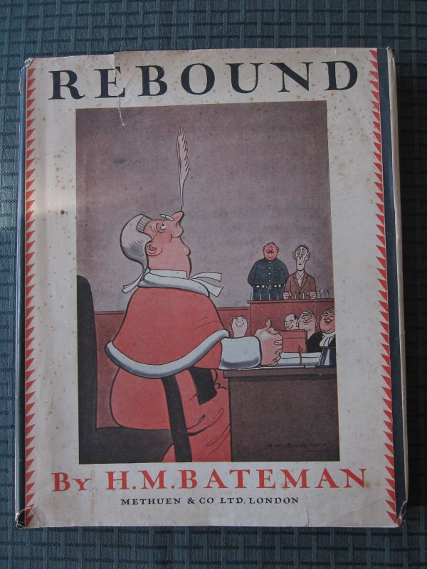 Rebound with dust jacket