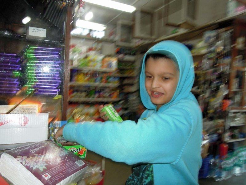 Go to Landour Bazaar and buy candy