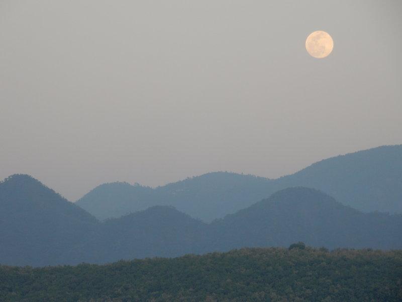 Enjoy moonrises