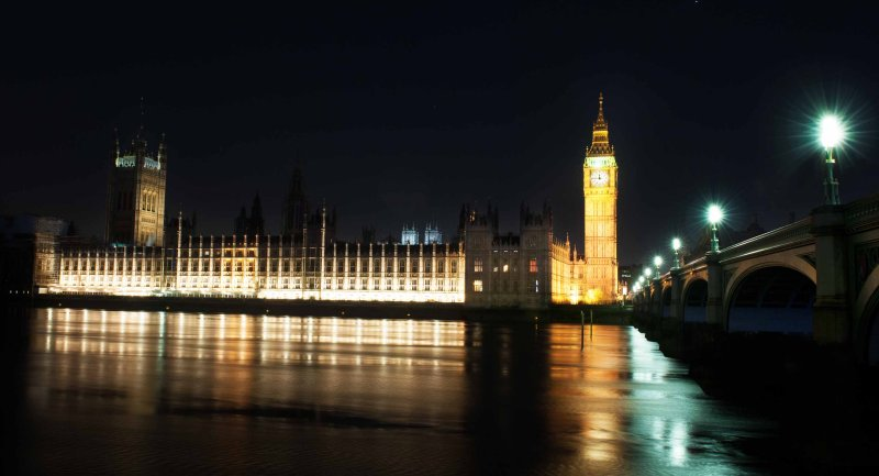 Palace of Westminster, Elizabeth Tower, Big Ben ( The Bell ) and The Westminster Bridge