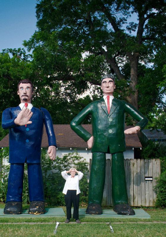 Art League sculpture garden