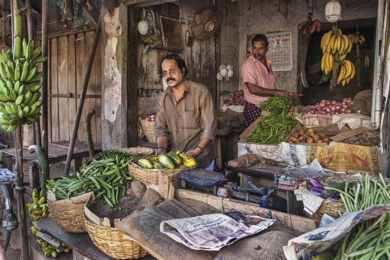 Vegetable Stall, Kochi