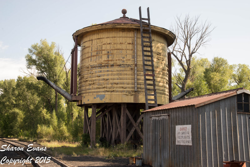 The double spouted water tank in Chama yard
