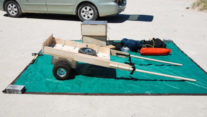Handcart assembled