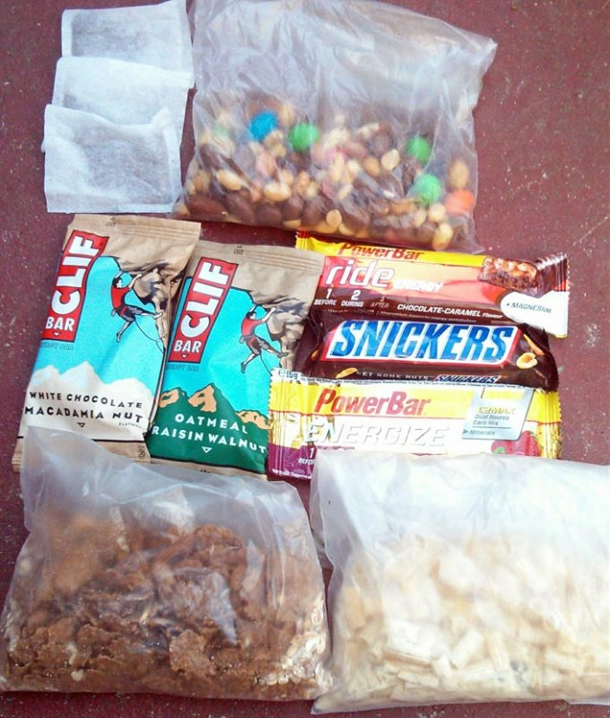 A days rations!