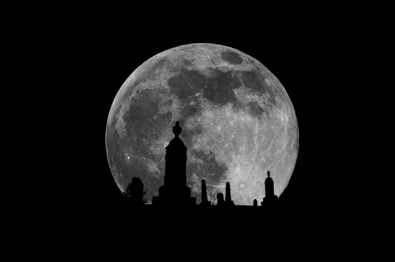 Moon Monuments