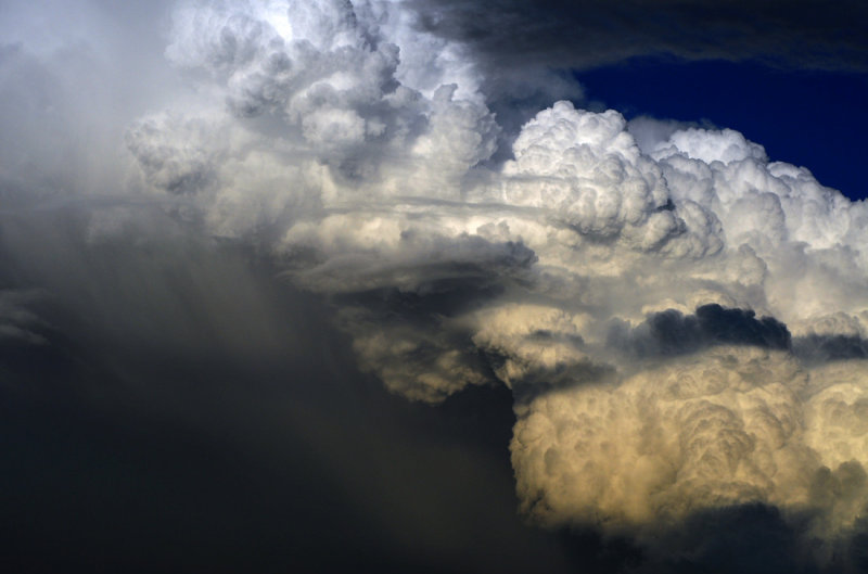 Friday Night Storm Cloud Formations