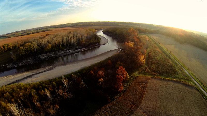 Fall at Elam Bend