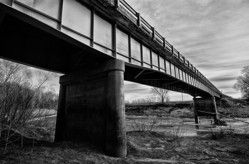 Crawford Ford Bridge (BW)