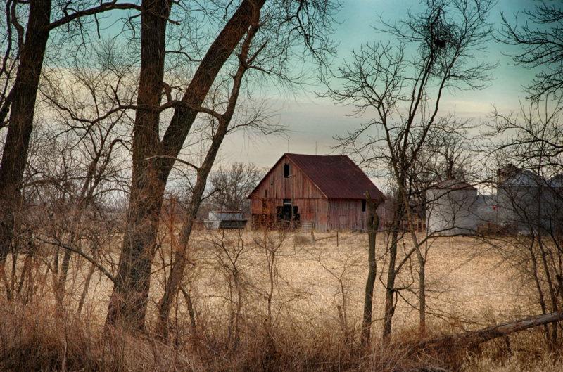 Barn Near Elam Bend