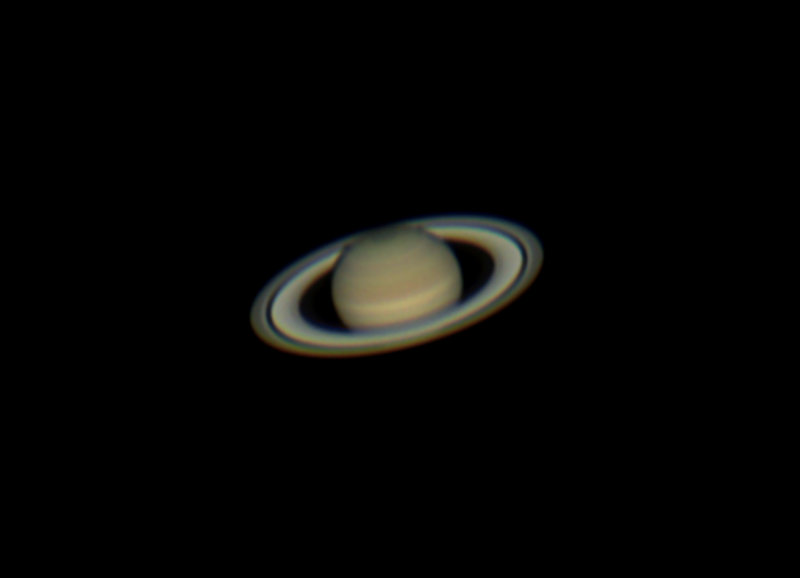 Saturn in Excellent Seeing Conditions