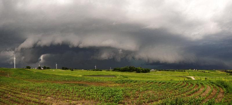 Severe Warned Storm