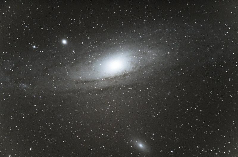 Island Universe M31 in Andromeda