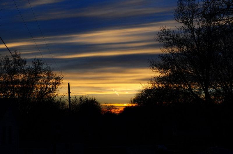 Spring Sunset Skies