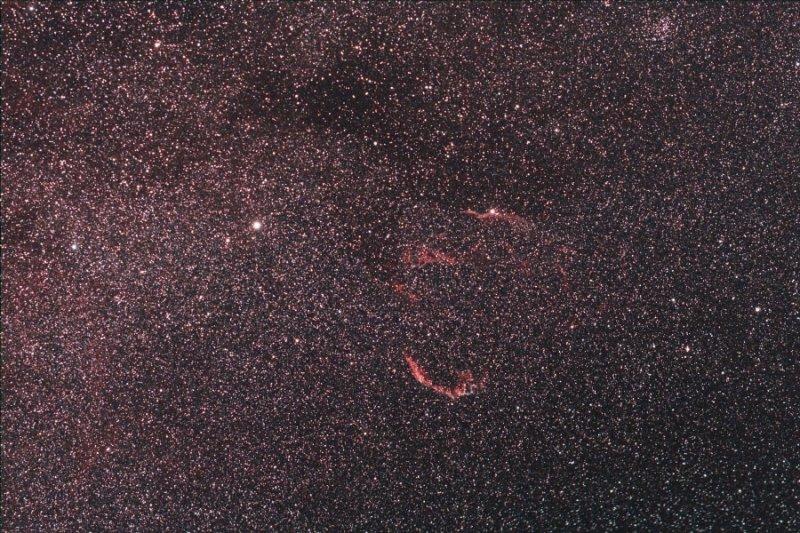 Veil Nebula and Epsilon Cygni
