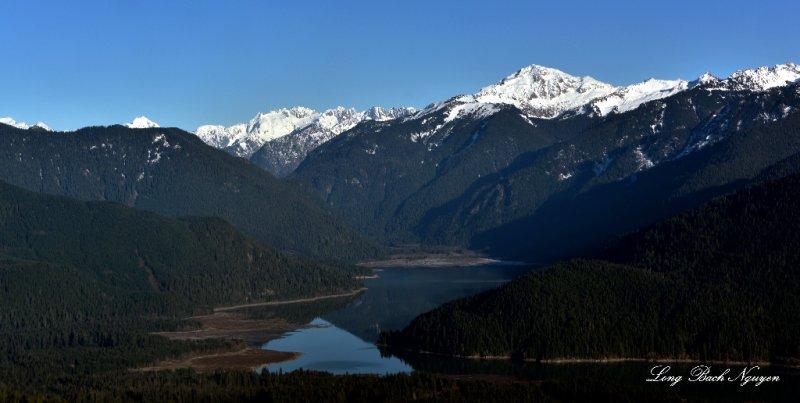 Mt Hogan, Mt Blum, Baker Lake, Washington