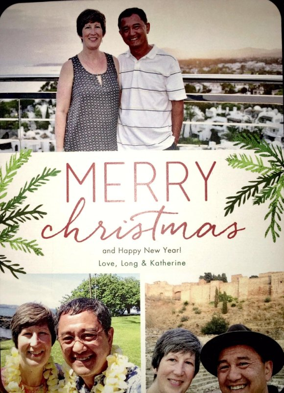 The Nguyens 2015 Xmas card
