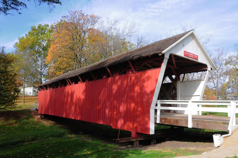 Bridges of Madison County - Cutler-Donahoe Covered Bridge