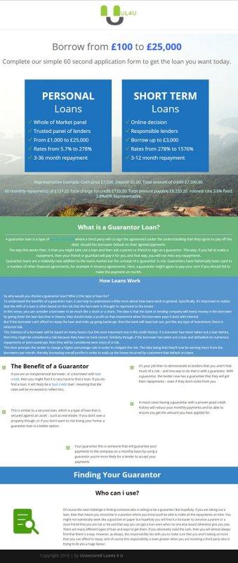 Unsecuredloans4u Infographics