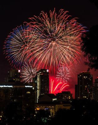 San Diego Fireworks July 4th 2014