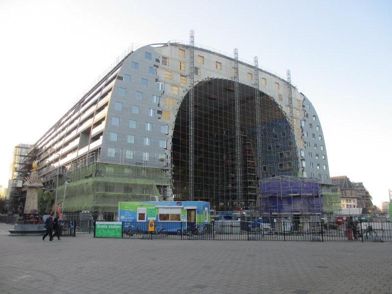 Markethall under construction