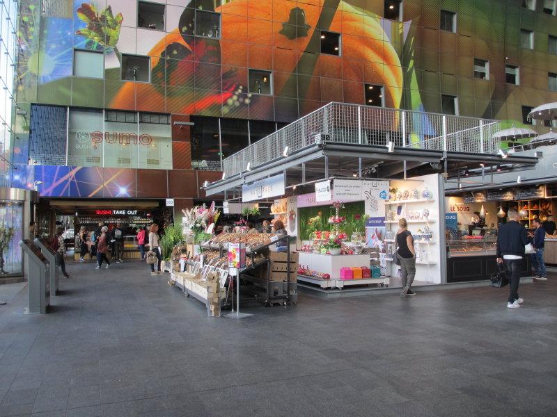 Inside the Market Hall