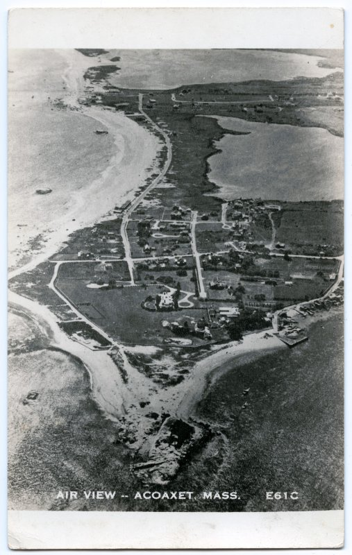 Air View -- Acoaxet, Mass. E61C